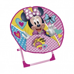 Minnie Mouse Stoel.Disney Minnie Mouse Stoel Junior Multicolor 48 Cm