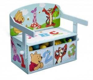 Disney Winnie the Pooh Opbergbank 62 x 43 x 57 cm light - Internet-Toys