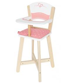 Kinderstoel Wit Hout.Hape Houten Kinderstoel Wit Roze Internet Toys