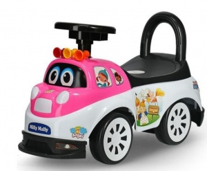 Milly Mally Ride On Tipi runner Angel junior pink/white