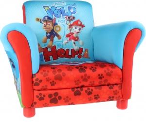 Nickelodeon paw patrol gestoffeerde stoel red blue internet toys