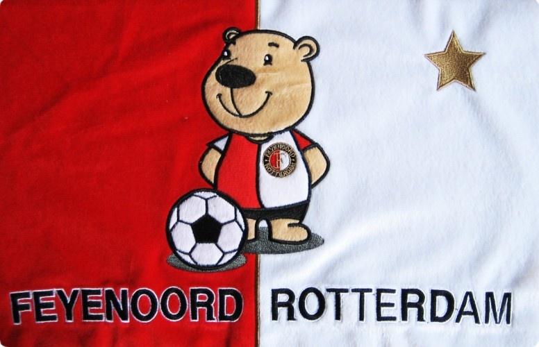 Feyenoord Slaapkamer : Feyenoord Kussen Beer - Hoofd- & Sierkussens ...