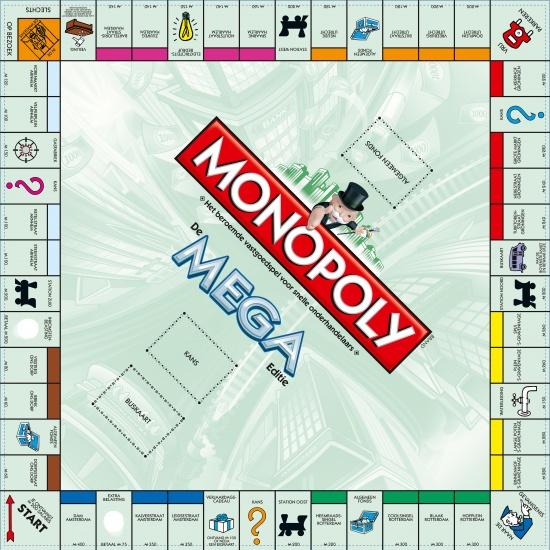 Hasbro Monopoly Mega Edition, 12 Extra Fields