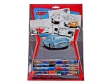 DISNEY CARS KLEURPLATEN SET 20-DELIG