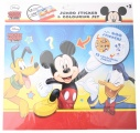 DISNEY KLEUR EN STICKERSET (400 STICKERS) MICKEY MOUSE