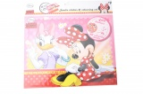 DISNEY KLEUR EN STICKERSET (400 STICKERS) MINNIE MOUSE