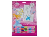 DISNEY PRINCESS KLEURPLATEN SET 20-DELIG