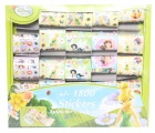 DISNEY STICKERDOOS (CA 1800 STICKERS) 25 ROLLEN TINKERBELL