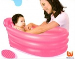 SPLASH & PLAY BAD BABY 79X51X33 CM ROZE