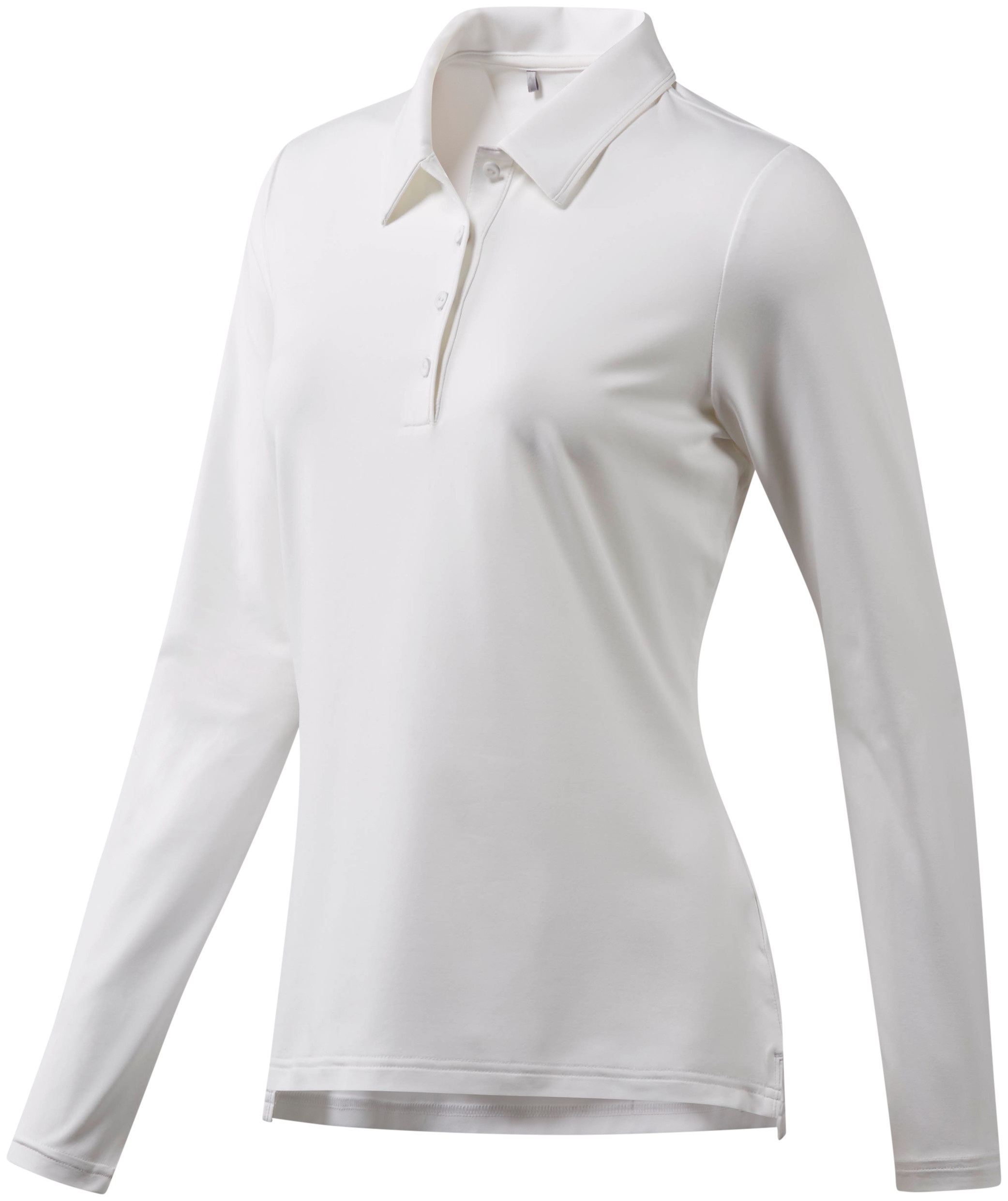 golf polo Ultimate LS Pladies white