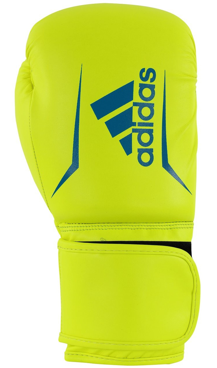 adidas Speed 50 Gants de boxe jaunebleu taille 10
