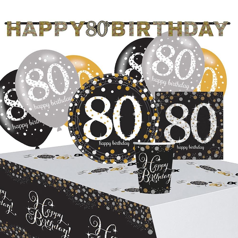 Amscan Gold celebration 80th Confettis 34 G