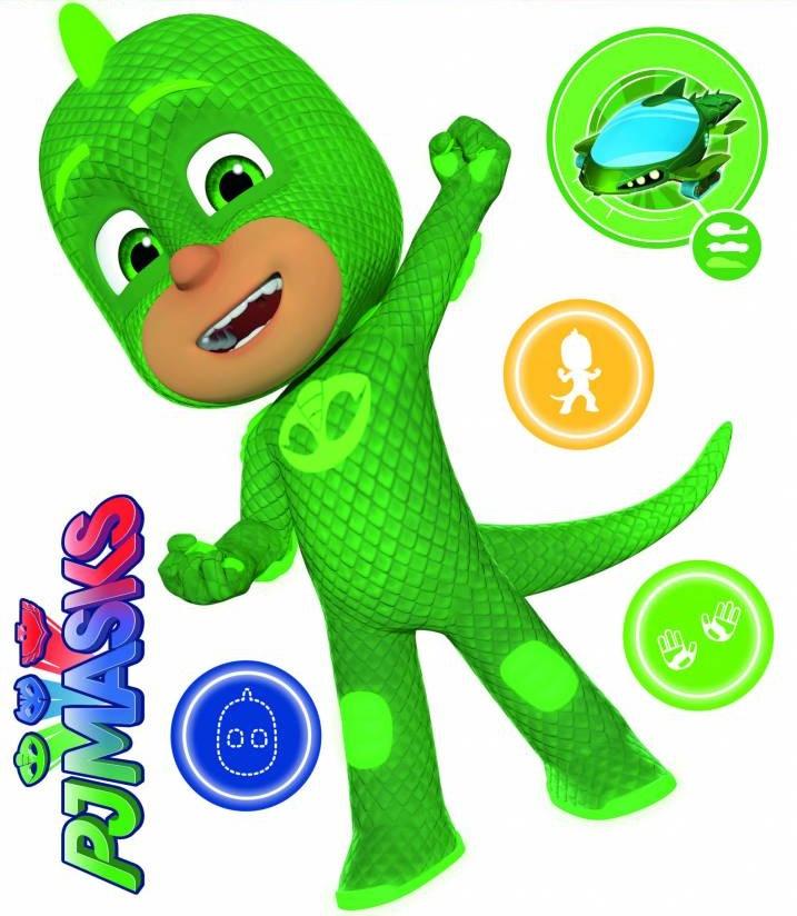 Muurstickers Den Haag.Arditex Wall Stickers Pj Masks Gekko 2 Sticker Sheets Internet Toys