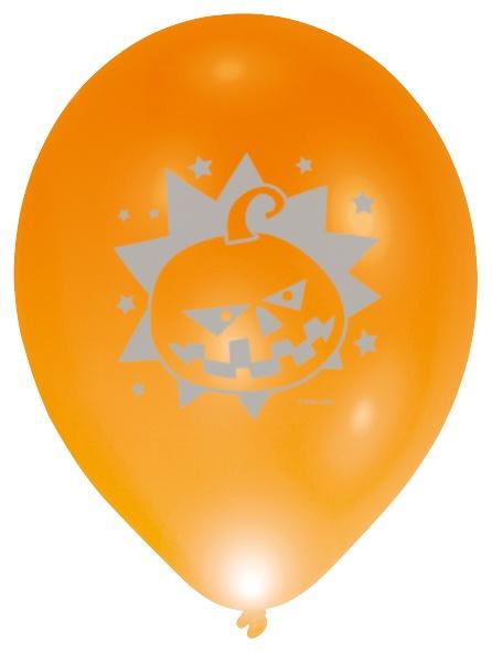 Halloween Verlichting.Balloominate Balloons With Led Lights Halloween 28 Cm 5