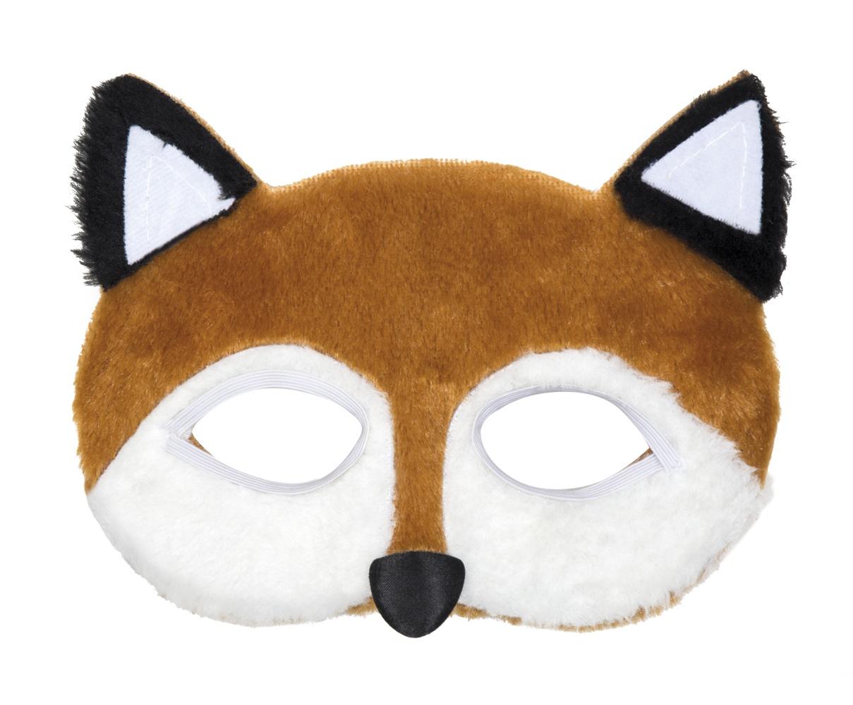 05393e7d3bca9c Boland halfmasker pluche dieren vos - Internet-Toys