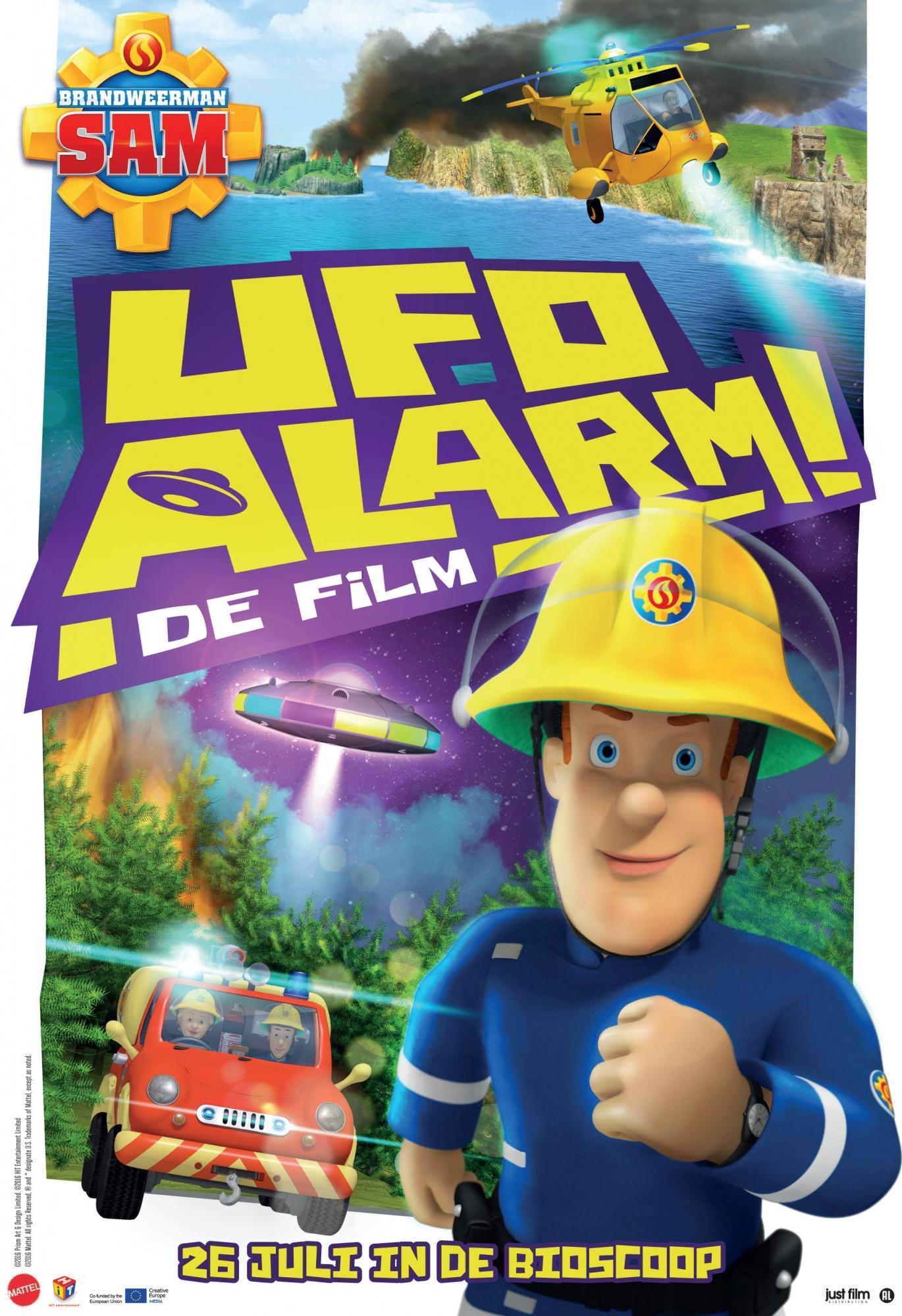 Populair Brandweerman Sam DVD UFO Alarm! - the film - Internet-Toys @QA39