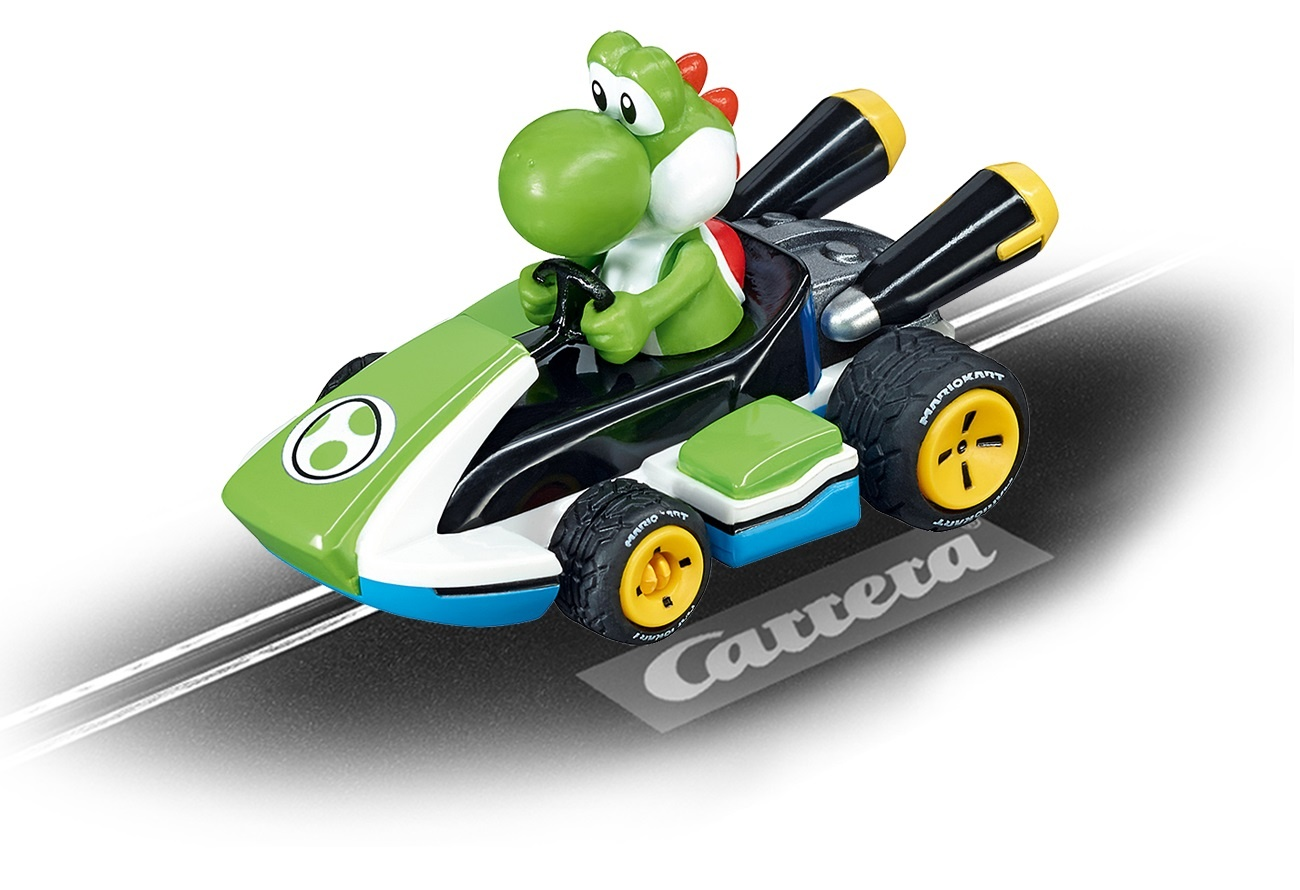 carrera go racebaan auto nintendo mario kart 8 yoshi. Black Bedroom Furniture Sets. Home Design Ideas