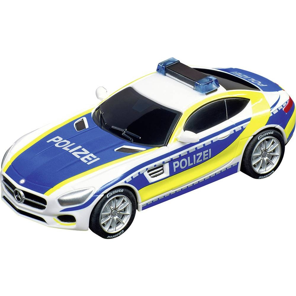 carrera rennwagen mercedes amg gt coup polizei 1 43 uhr. Black Bedroom Furniture Sets. Home Design Ideas