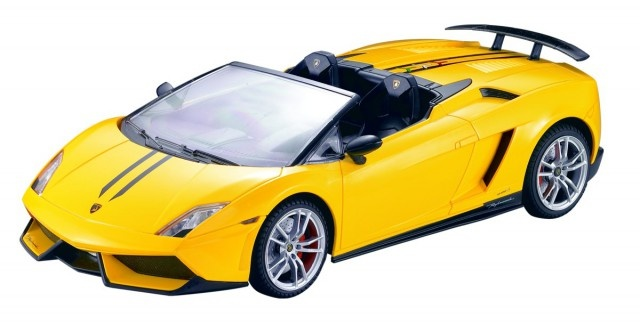 Cartronic Rc Lamborghini Gallardo Spyder Performant Yellow 1 14