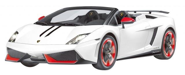 Cartronic Rc Lamborghini Gallardo Spyder Performant White 1 14