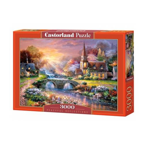 castorland jigsaw puzzle peaceful reflections 3000 pieces internet