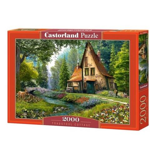 Castorland Jigsaw Puzzle Toadstool