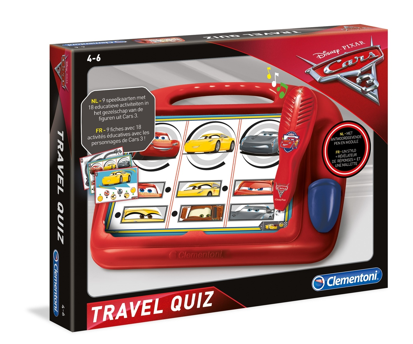 Disney Cars 3 travel quiz