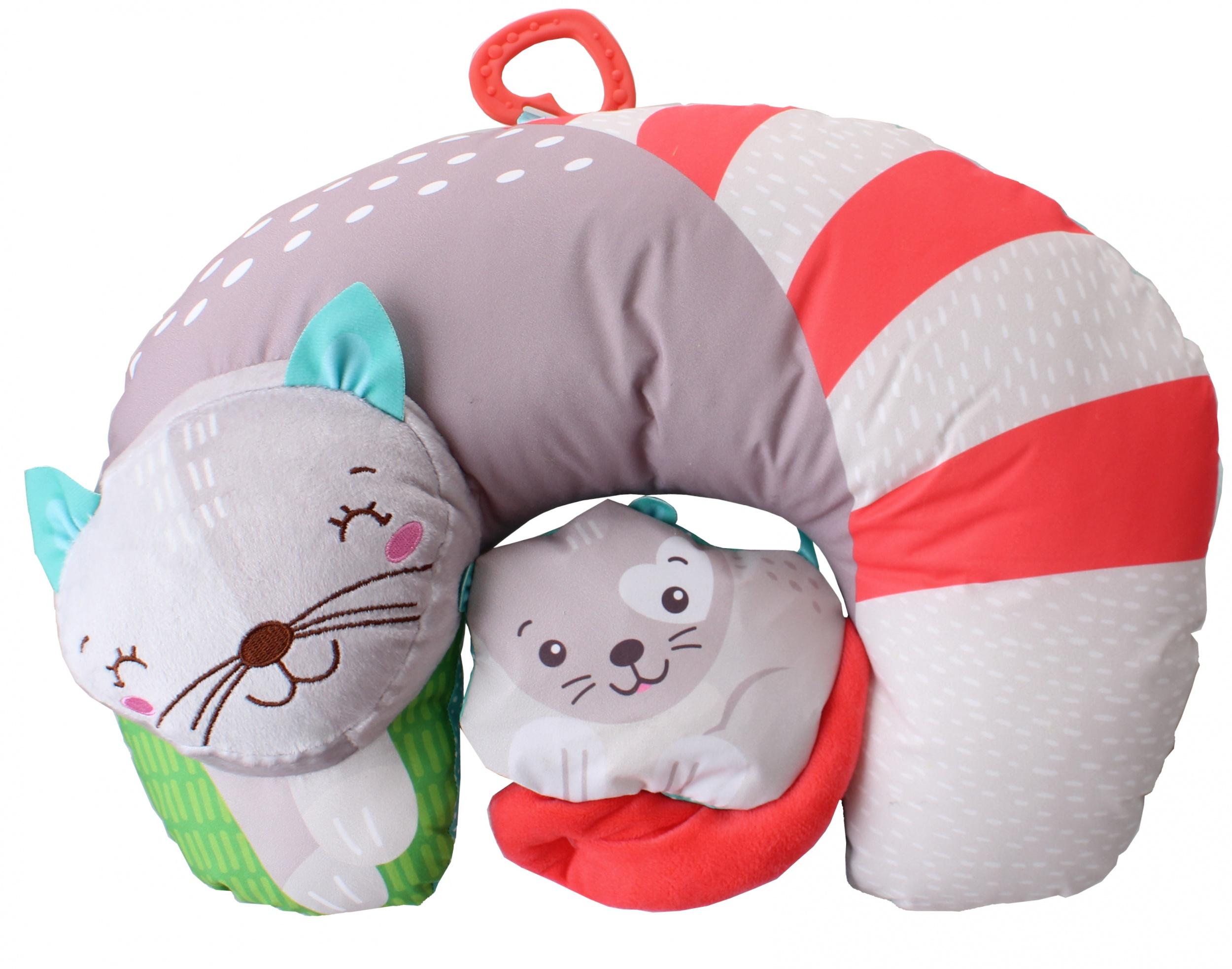 Baby Clementoni-ჩვილის ბალიში კატა