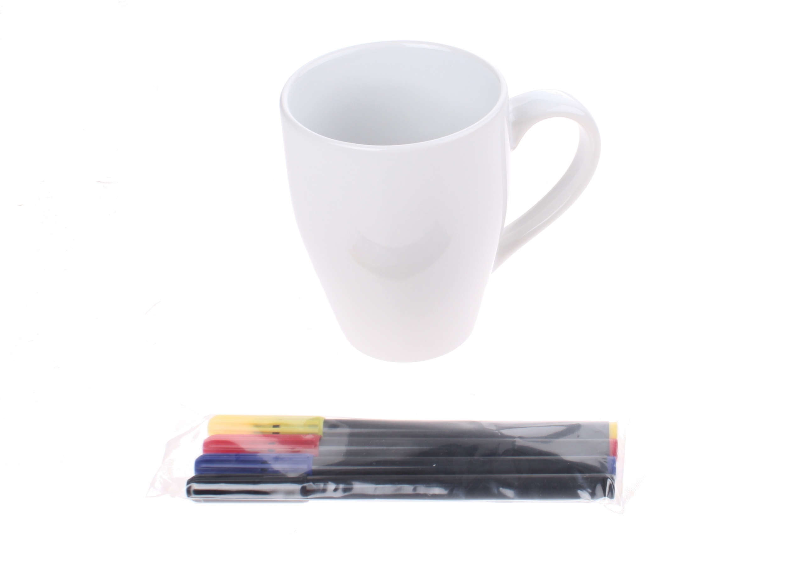 Craft Sensations Decorate Your Own Mug 11 Cm White Internet Toys
