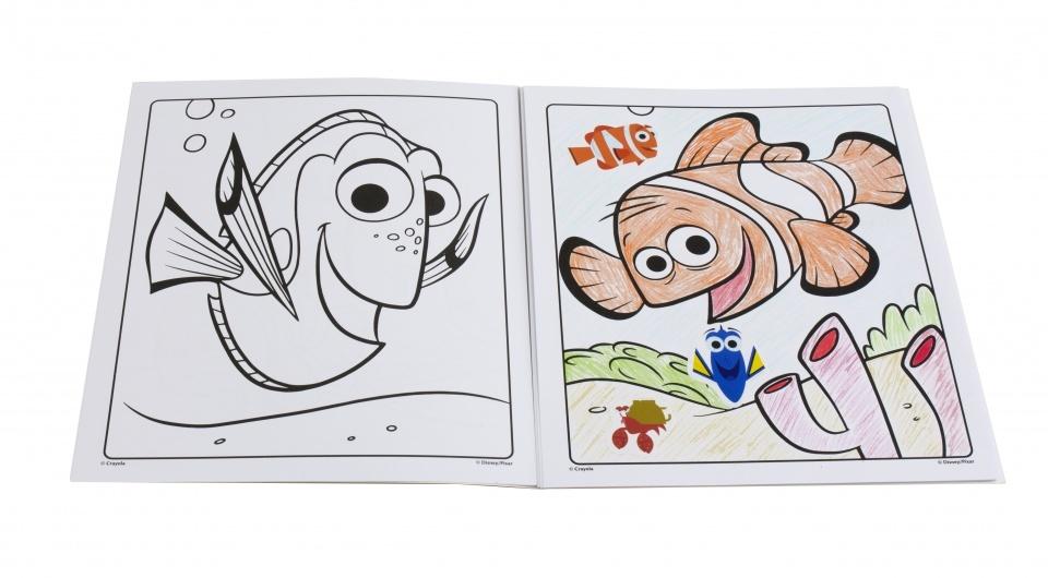 Crayola Kleur En Stickerboek Disney Finding Dory