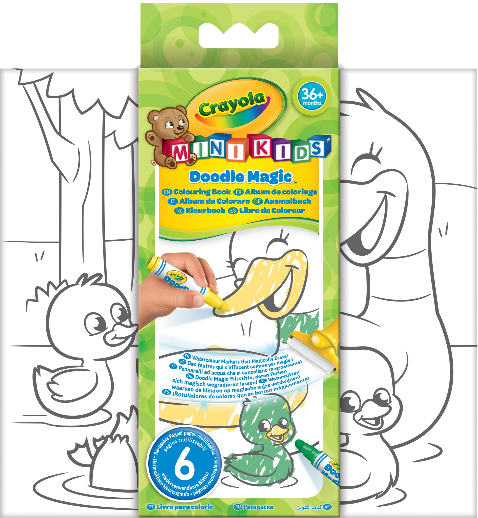 Crayola Mini Kids : Doodle Magic Color Book - Internet-Toys