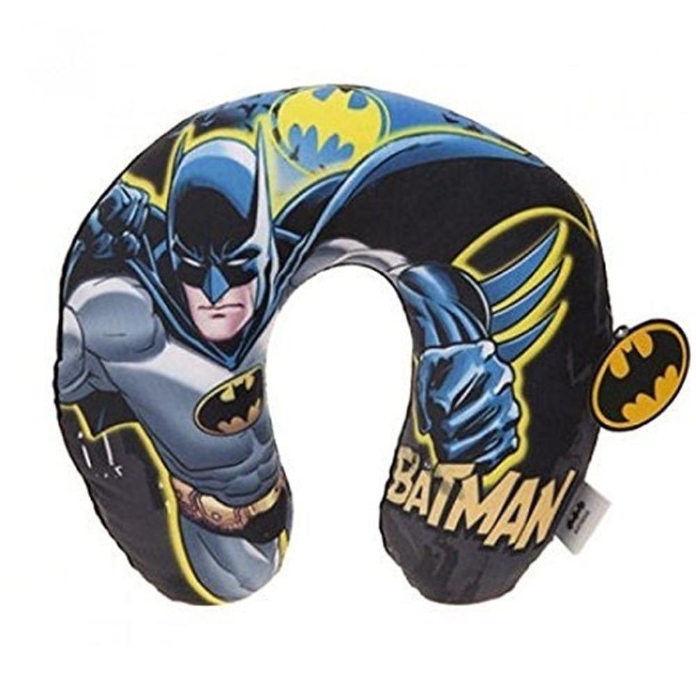 ed565647e2f DC Comics neck cushion Batman with hoody 28 x 30 cm blue black ...