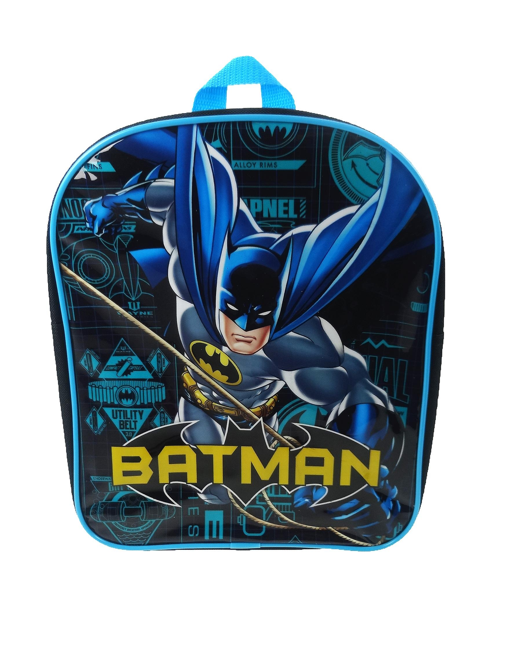 15a458cd0910 DC Comics backpack Batman blue 9 liter - Internet-Toys