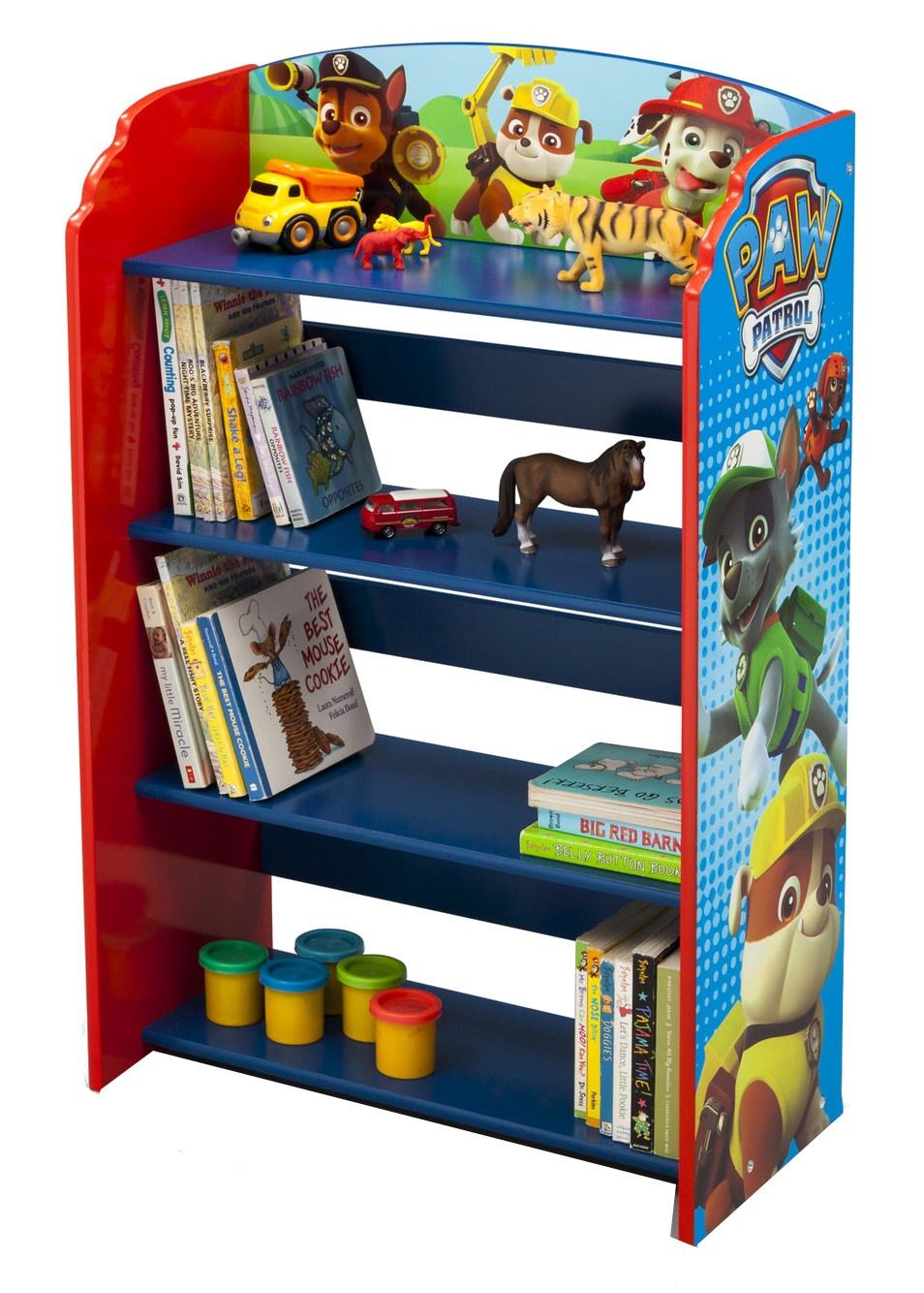 Delta Kids Paw Patrol Bookcase 50 X 26 83 Cm