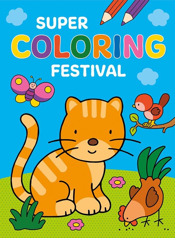Natuur Kleurplaten Deltas.Kleurboek Super Coloring Festival