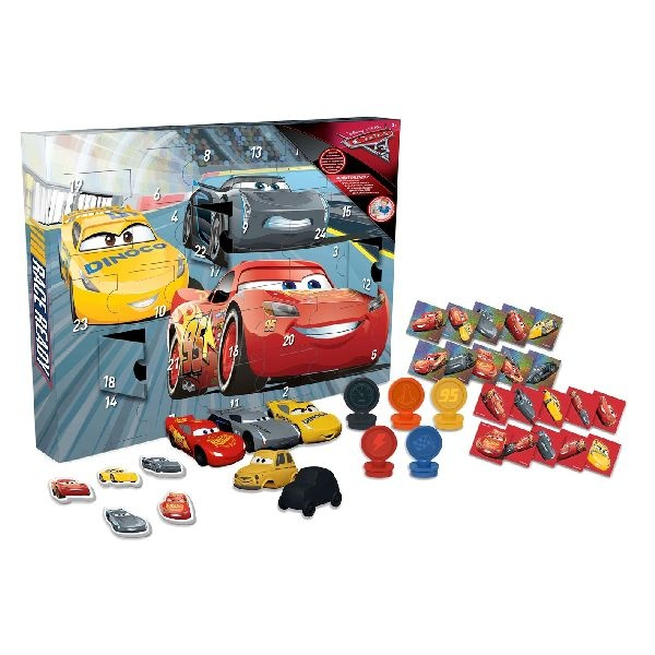 disney adventskalender cars 3 29 delig internet toys. Black Bedroom Furniture Sets. Home Design Ideas
