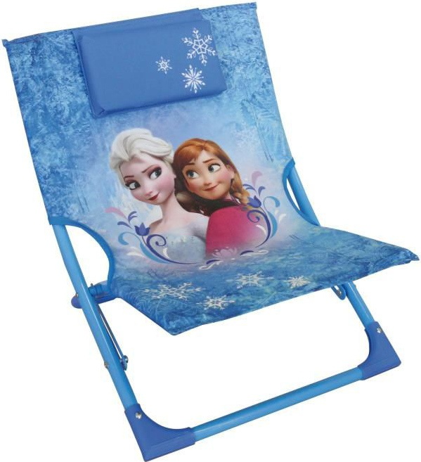 Excellent Frozen Lounge Chair Girls Blue Camellatalisay Diy Chair Ideas Camellatalisaycom