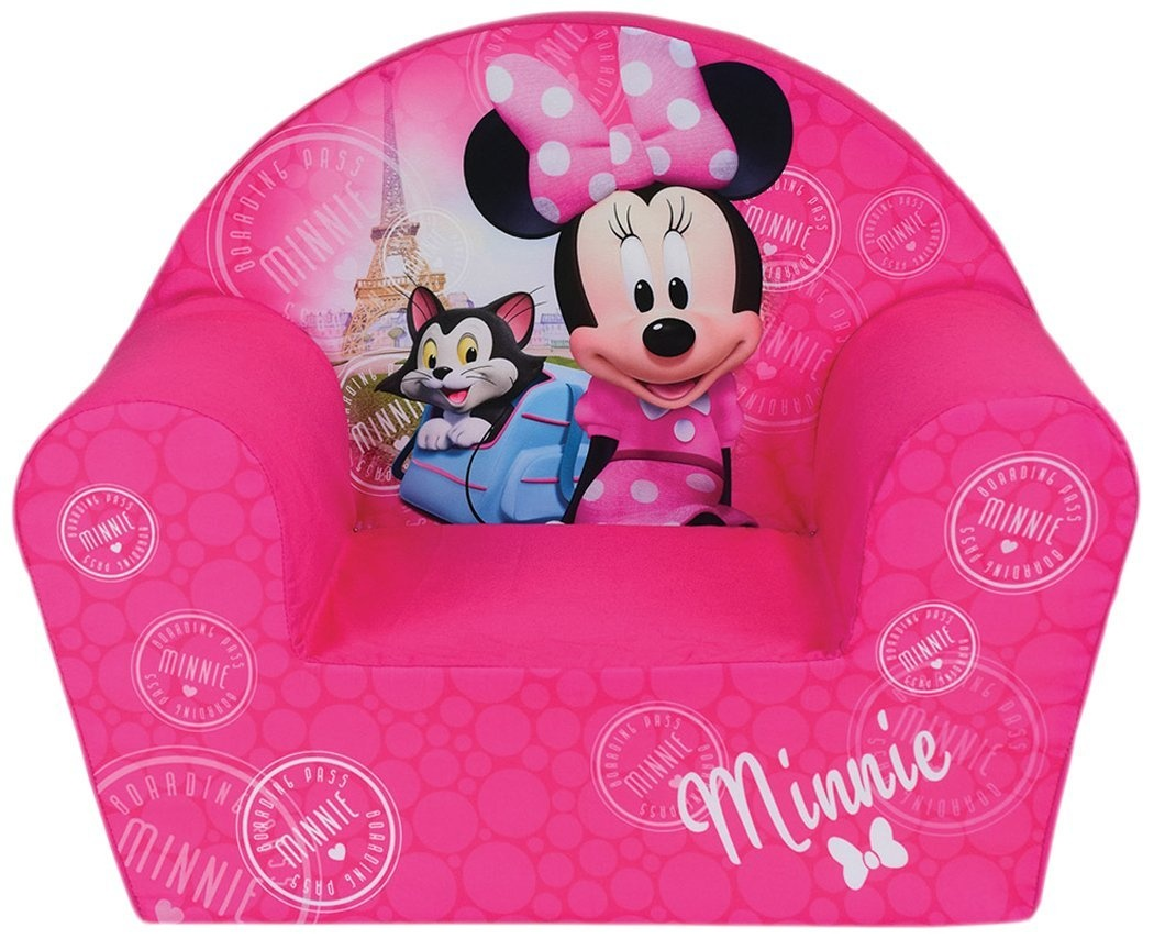 Minnie Mouse Stoel : Disney minnie mouse chair cm pink internet toys