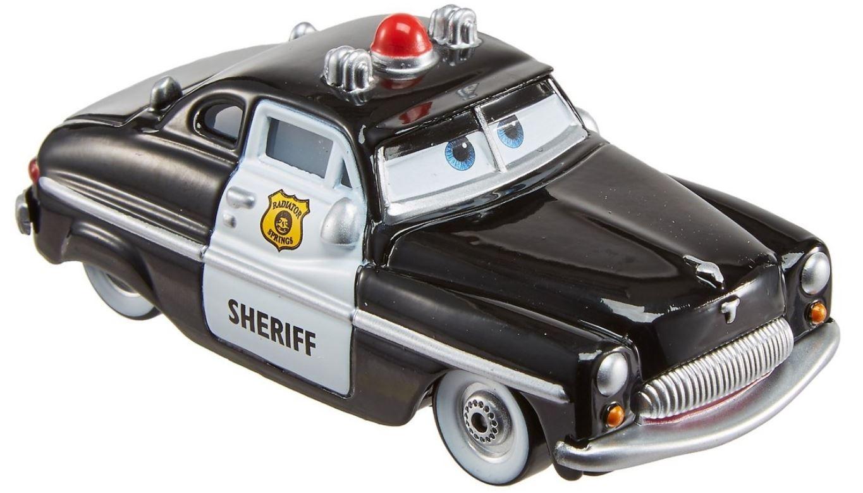 Disney Pixar Cars Sheriff Diecast 8 Cm Black White Internet Toys