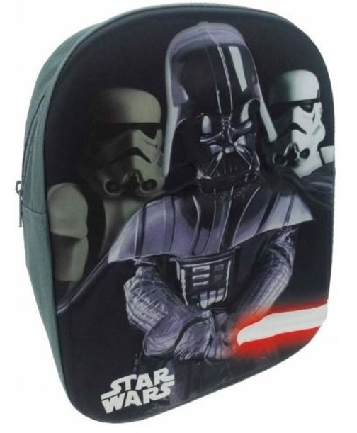 8f240ec835bcf4 Disney Backpack Star Wars Darth Vader 3D Gray 26 x 10 x 32 cm ...