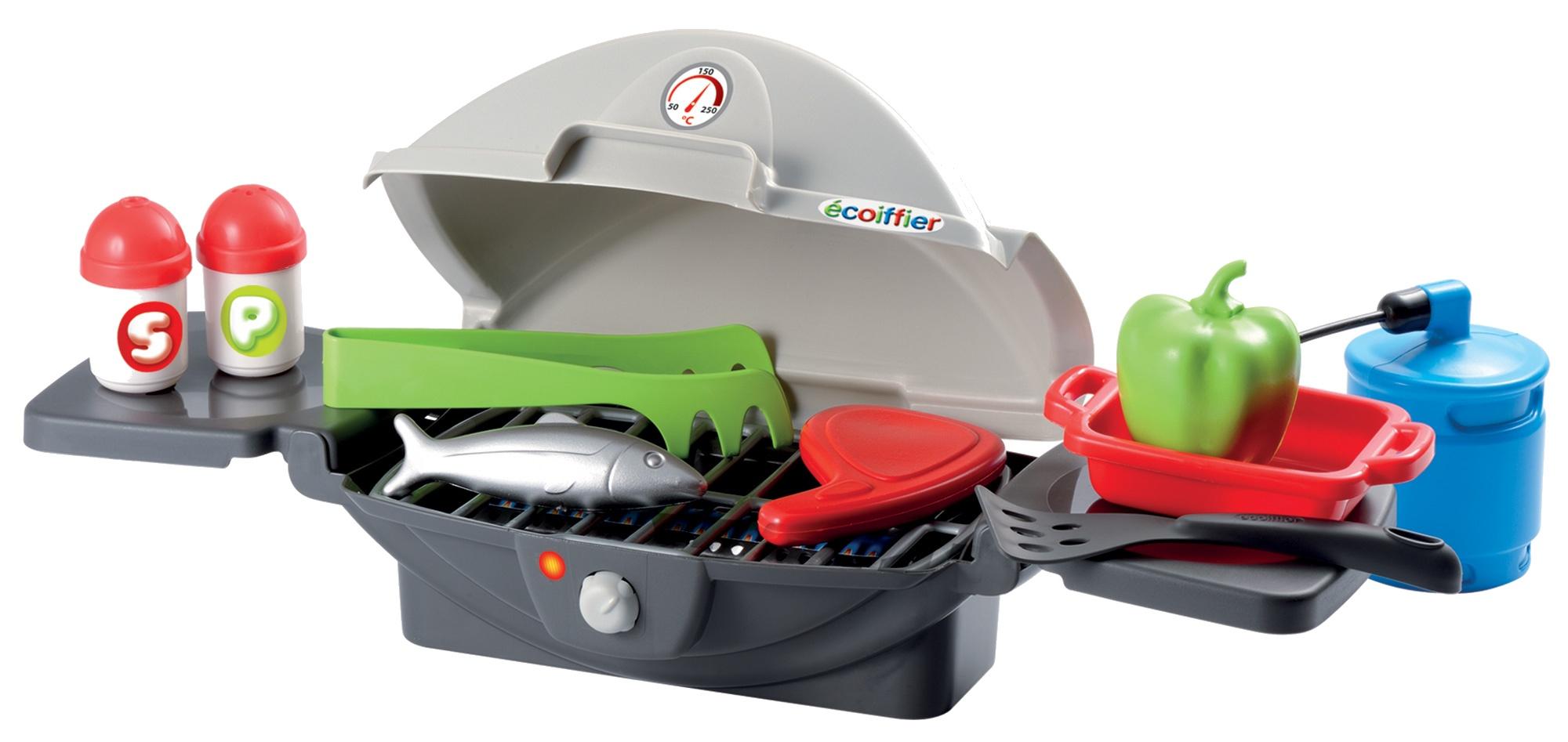 écoiffier spielzeug grill 60 x 40 x 30 cm 12 blatt - internet-toys
