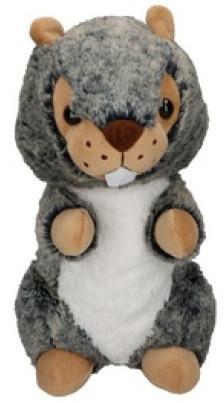 e01a2f3cc09f97 Eddy Toys knuffel bever grijs/groen 19 cm - Internet-Toys