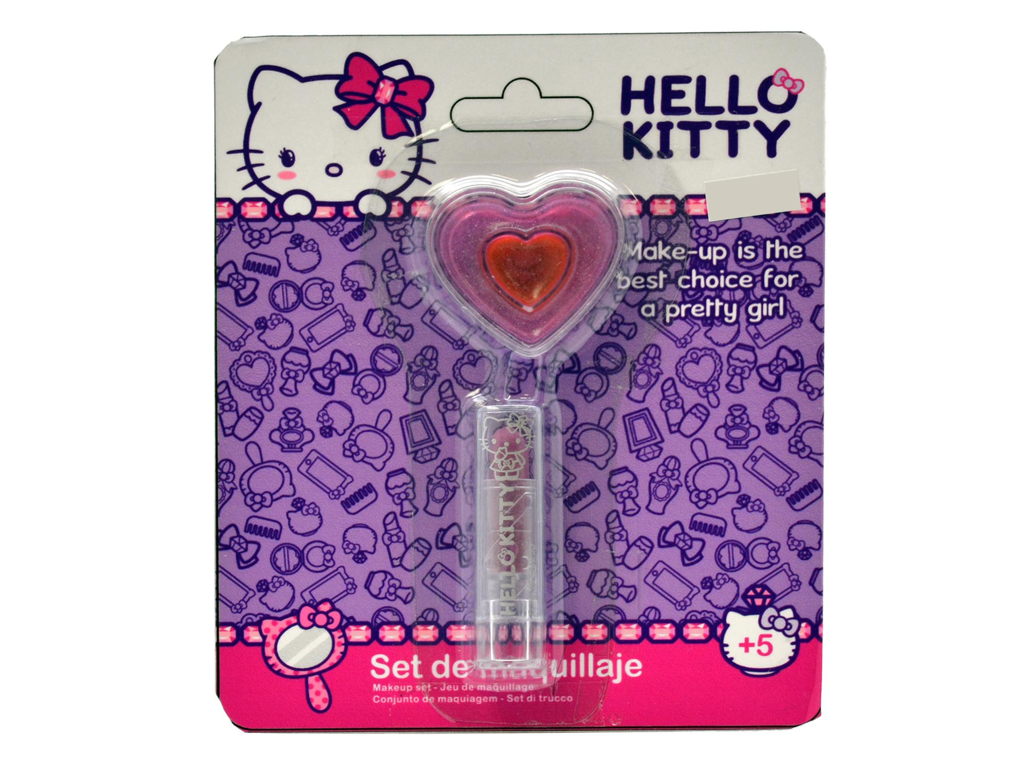 d4214571500f Falca lipstick set Hello Kitty girls 2-piece - Internet-Toys