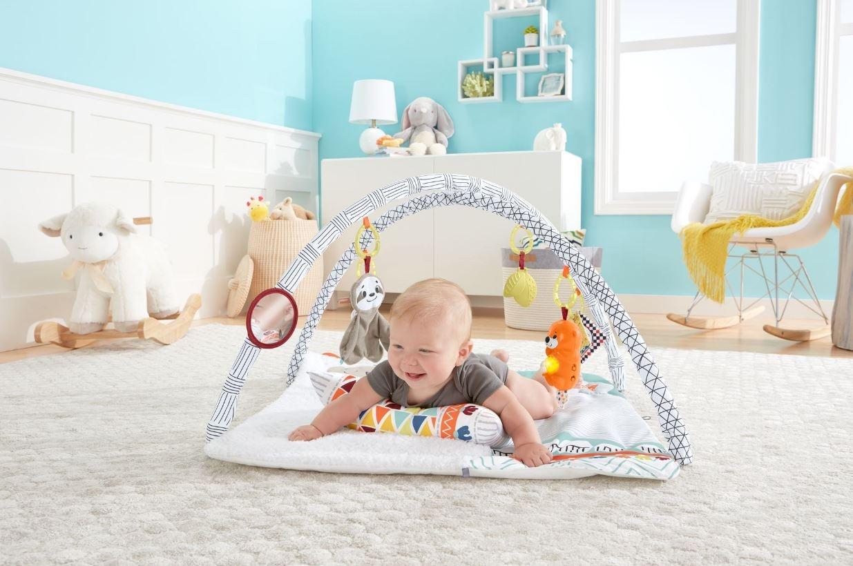 Fisher Price Deluxe Perfect Sense Baby Gym 67 Cm