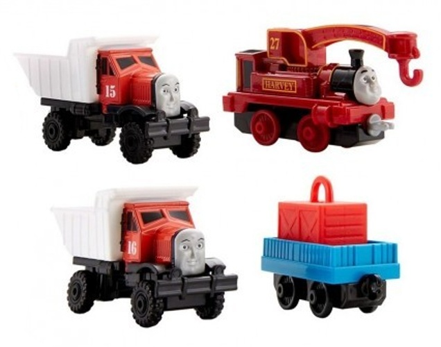f3950c385c37 Thomas & Friends Adventures 4-piece (DXT82)