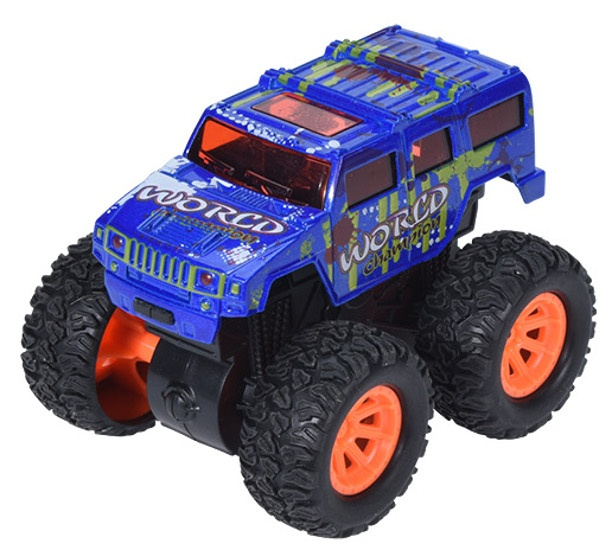 Free And Easy Toy Car Sample Truck Friction 9 Cm Blue Internet Toys