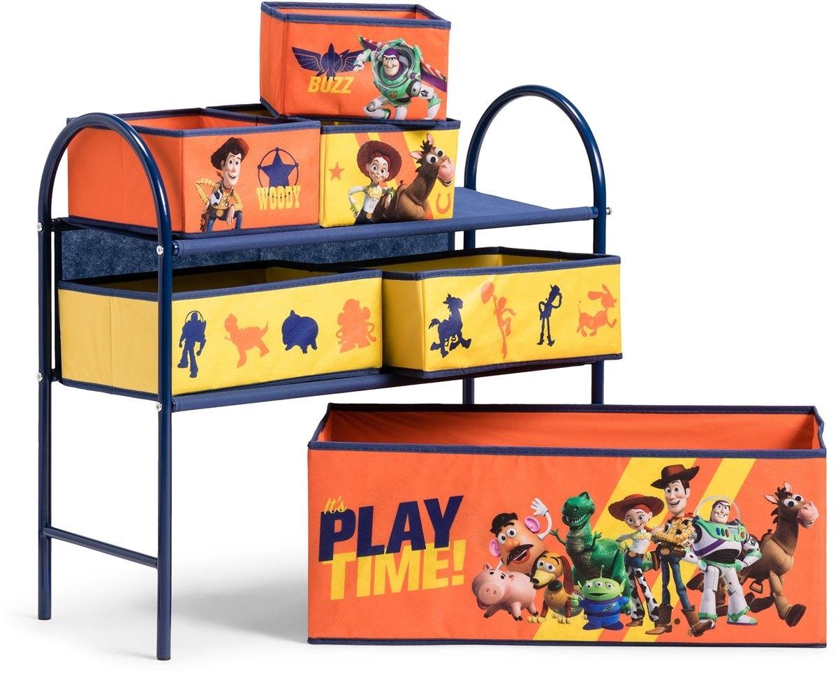 Opbergkast Met Lades.Opbergkast 6 Lades Toy Story 60 Cm Blauw Oranje