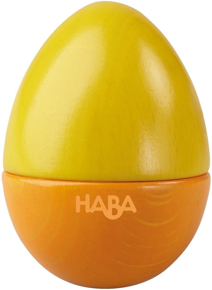 Music Egg Wood 65 Cm Yelloworange