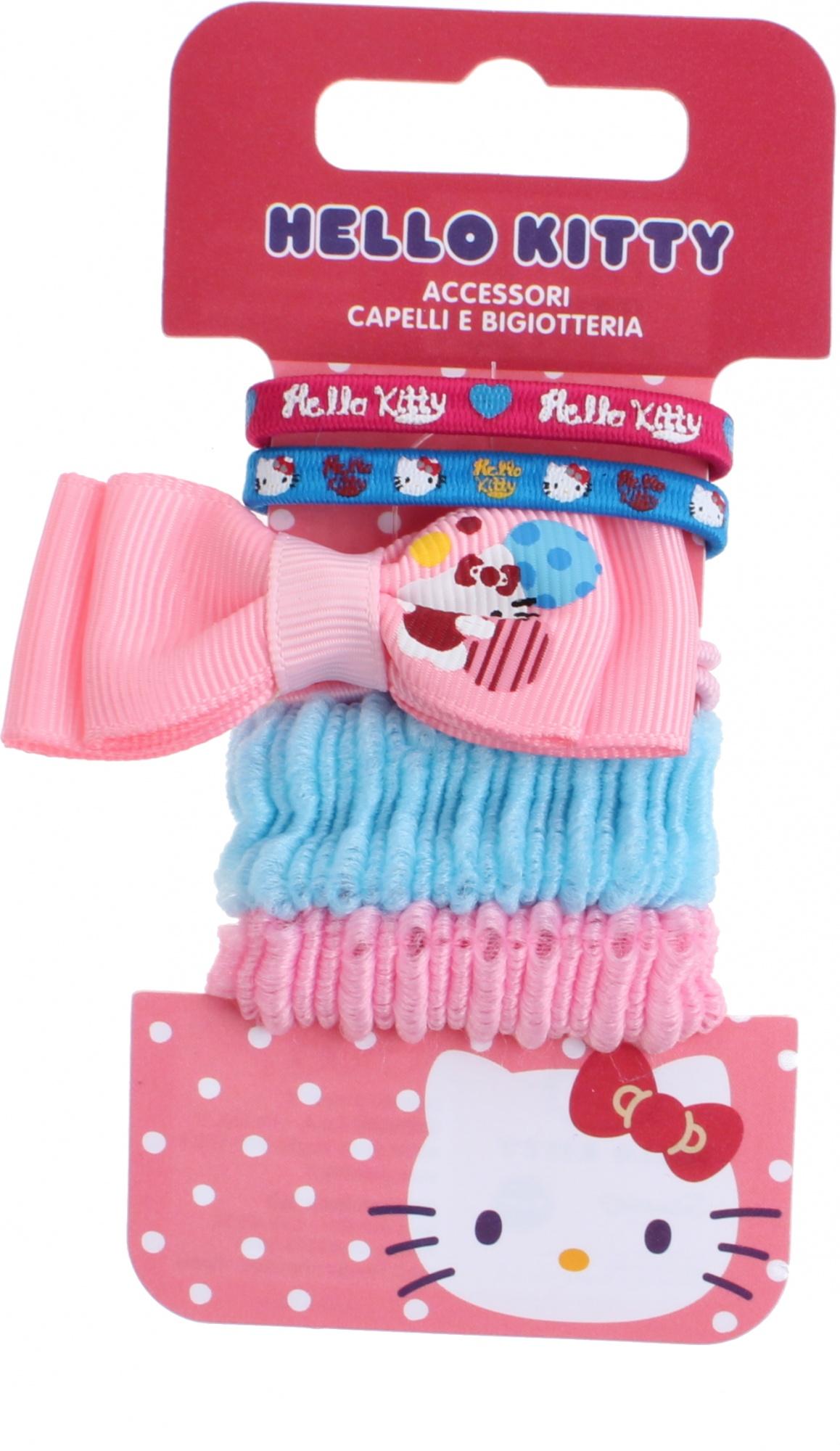 1f458ff7e Hello Kitty hair bows 5-piece pink / blue - Internet-Toys