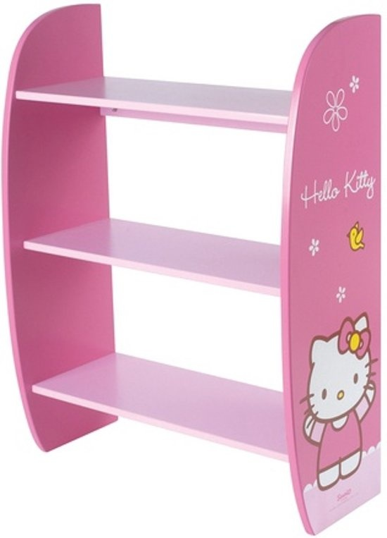 Hello Kitty Opbergkast.Hello Kitty Cabinet Pink Girls 52 7 X 23 1 X 70 Cm Internet Toys